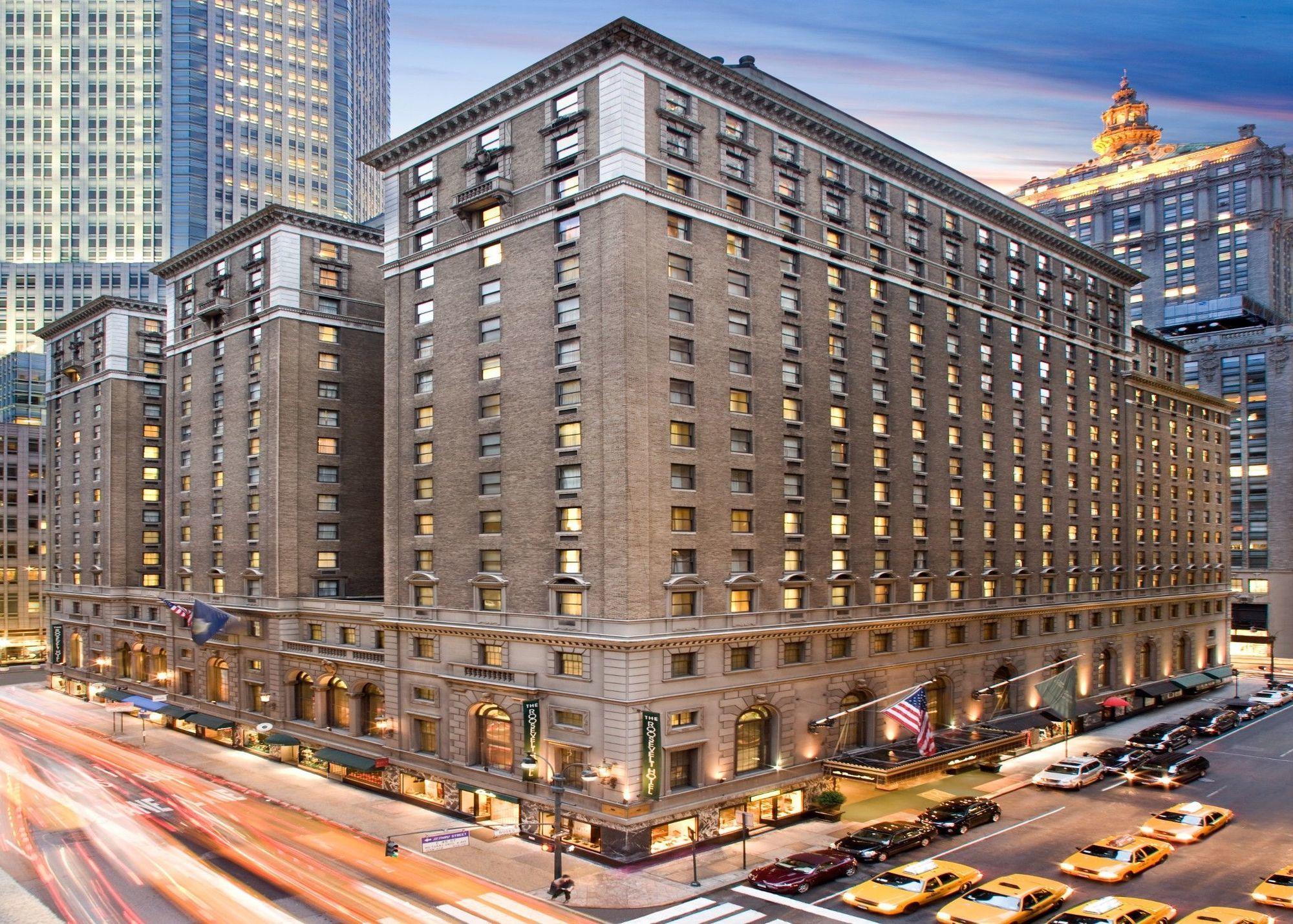 Roosevelt hotel new york for Sistemazione new york